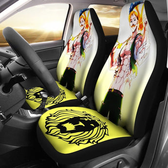 Seven Deadly Sins Escanor Car Seat Covers - Car Seat Covers