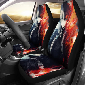 Shouto Todoroki Car Seat Covers 1 - Car Seat Covers