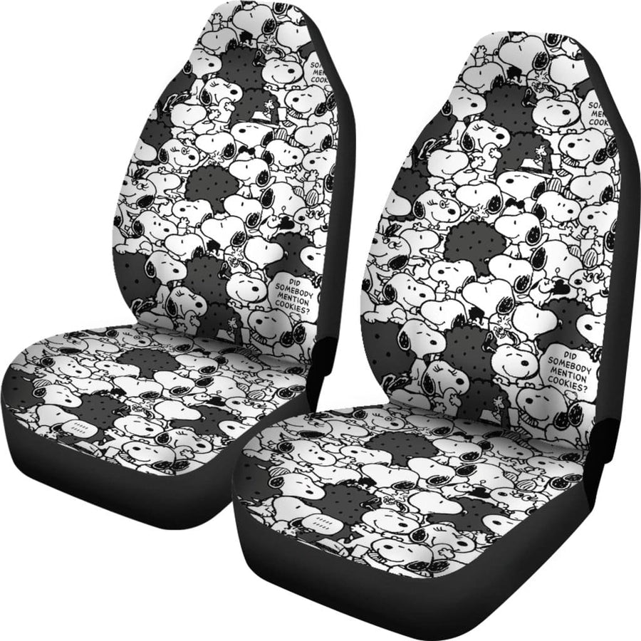 Snoopy Car Seat Covers 1 - Amazing Best Gift Idea