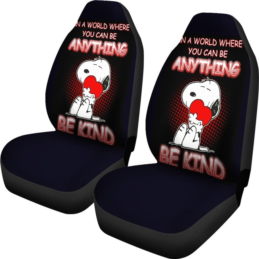 Snoopy Car Seat Covers - Amazing Best Gift Idea