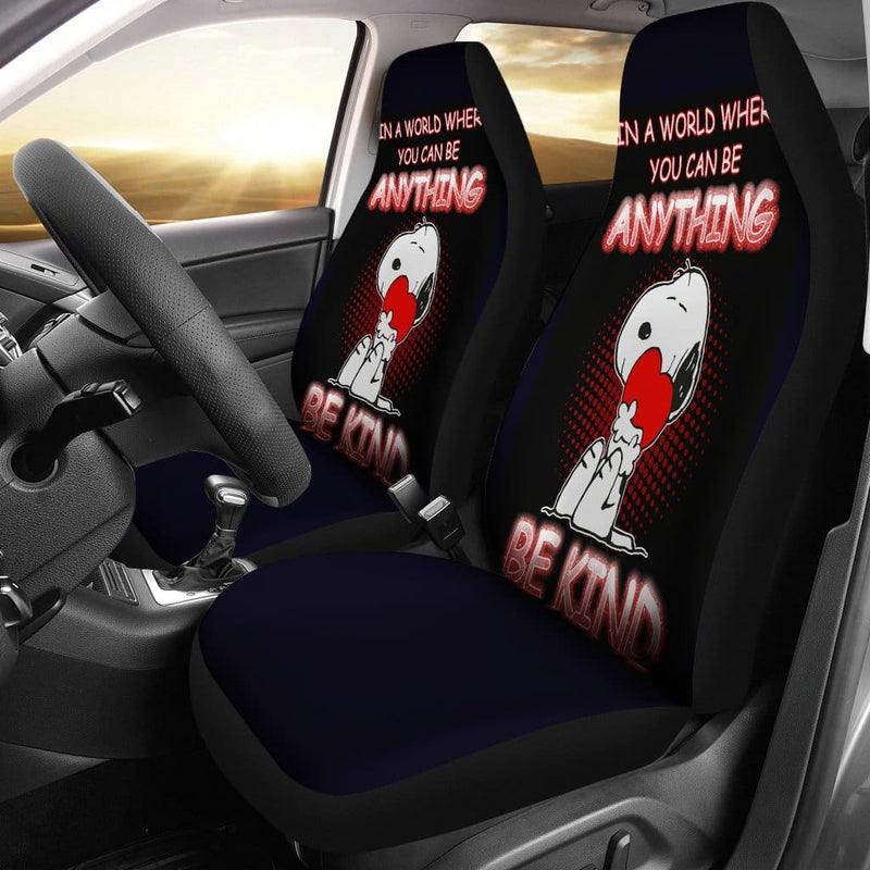 Snoopy Car Seat Covers