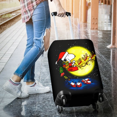 Snoopy Christmas Luggage Covers - Luggage Covers