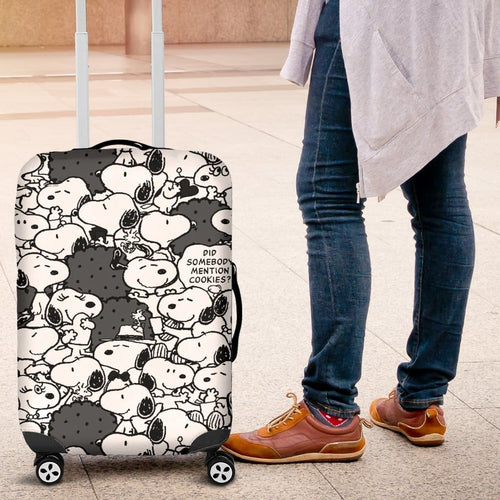 Snoopy Luggage Covers 2 - Luggage Covers