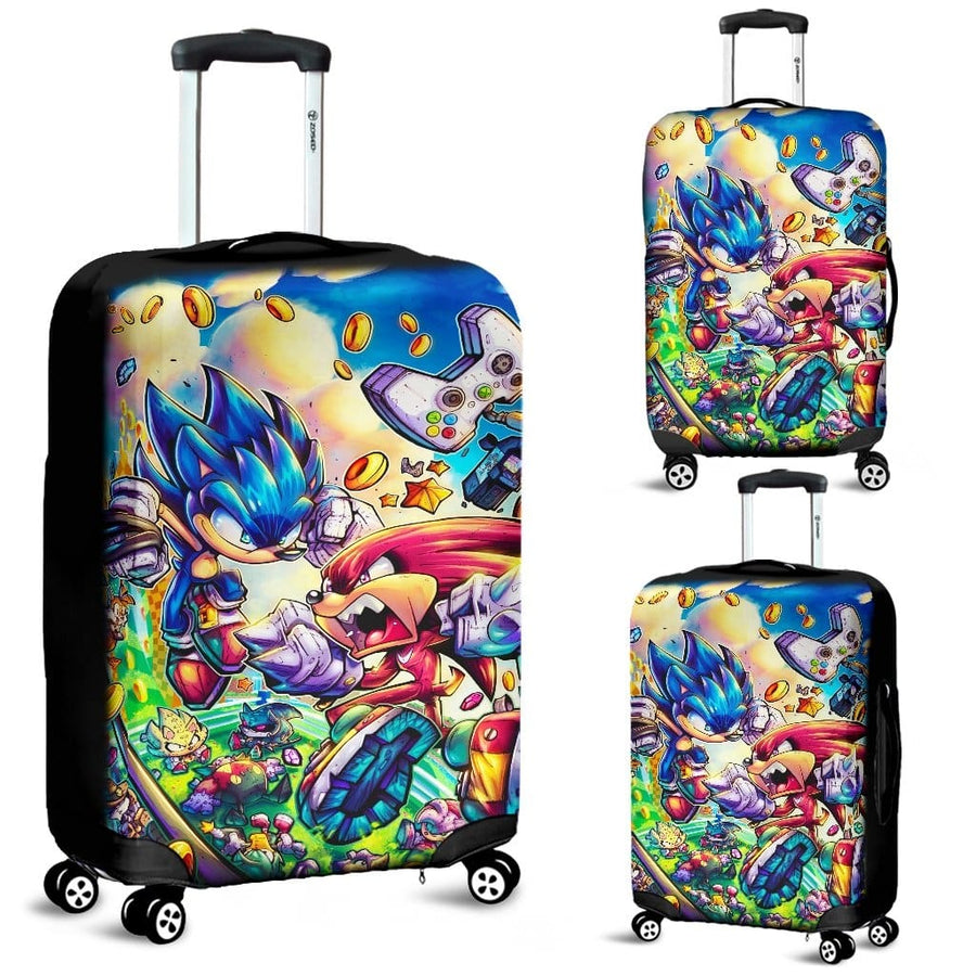 Sonic The Hedgehog Luggage Covers