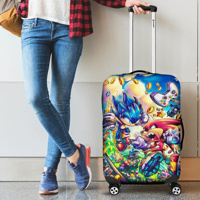 Sonic The Hedgehog Luggage Covers - Luggage Covers