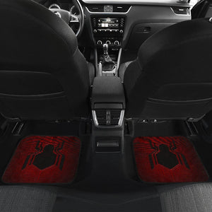 Spiderman Homecoming Front And Back Car Mats (Set Of 4) - Car Seat Covers