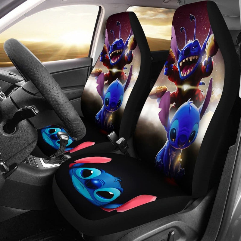 Stitch Alien Car Seat Covers - Car Seat Covers