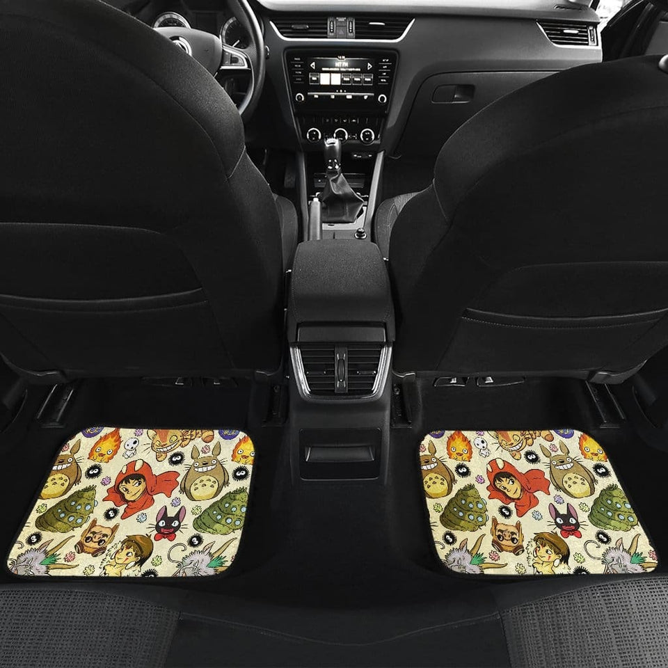Studio Ghibli Front And Back Car Mats (Set Of 4) - Car Mats