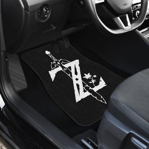 The Legend Of Zelda Front And Back Car Mats 12 - Car Mats