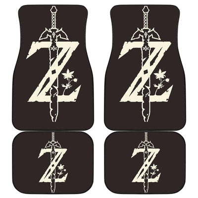 The Legend Of Zelda Front And Back Car Mats 2 - Car Mats