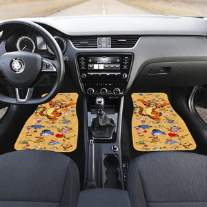Tiger Winnie The Pooh Front And Back Car Mats (Set Of 4) - Car Mats