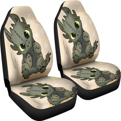 Toothless How To Train Your Dragon Car Seat Covers - Car Seat Covers