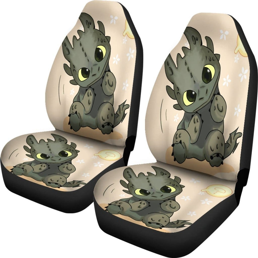 Toothless How To Train Your Dragon Car Seat Covers - Amazing Best Gift Idea
