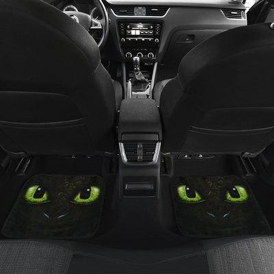 Toothless How To Train Your Dragon Front And Back Car Mats (Set Of 4) - Car Mats