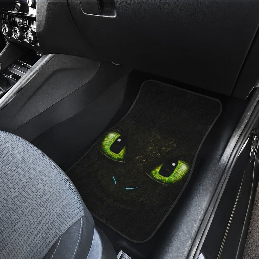 Toothless How To Train Your Dragon Front And Back Car Mats (Set Of 4)