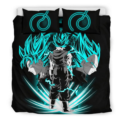 Vegito Bedding Set - Bedding Set - Black - Vegito Bedding Set / King - Bedding Set