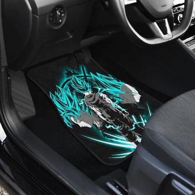 Vegito Front And Back Car Mats (Set Of 4)