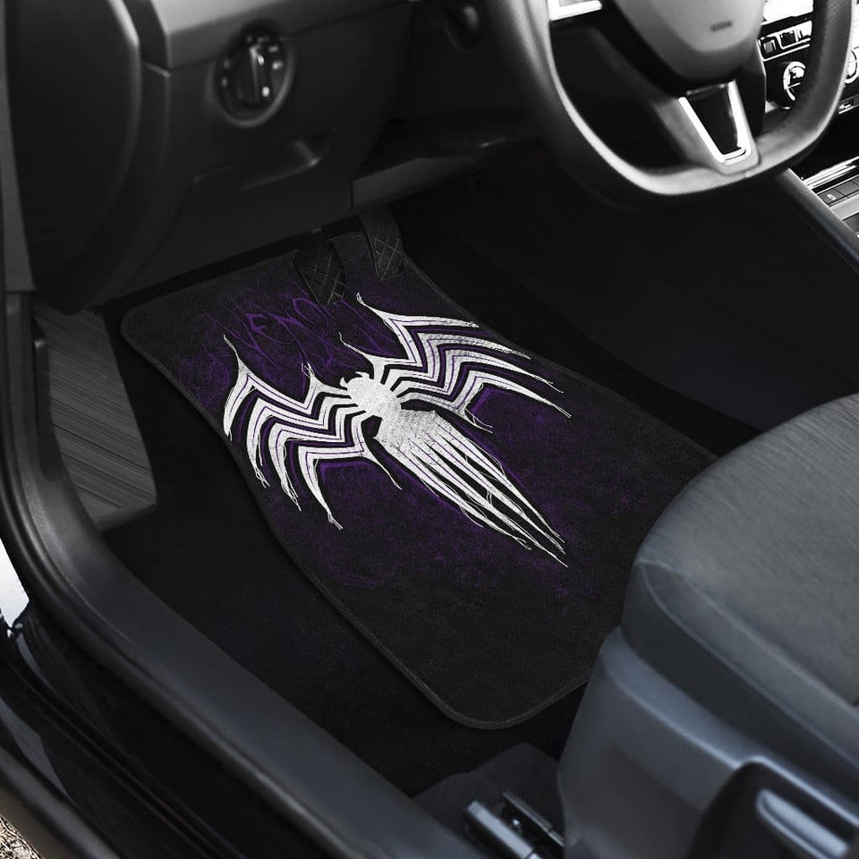 Venom Front And Back Car Mats (Set Of 4) - Car Mats