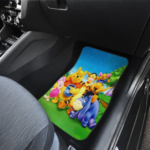Winnie The Pooh Front And Back Car Mats 11 (Set Of 4) - Car Mats