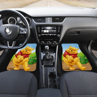 Winnie The Pooh Front And Back Car Mats 6 (Set Of 4) - Car Mats