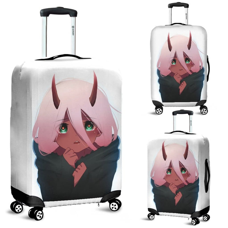 Zero Two Darling In The Franxx Luggage Covers - Luggage Covers