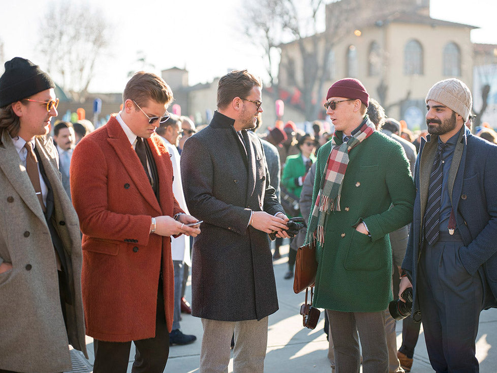 Herrenmodetrends der Pitti