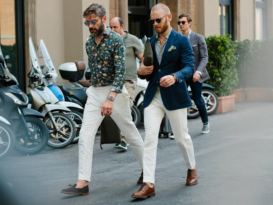 Pitti Herrenmode trends
