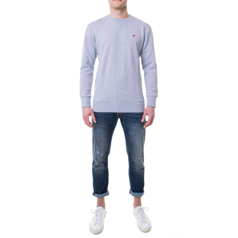 Brosbi Icon Heart Sweatshirt grau
