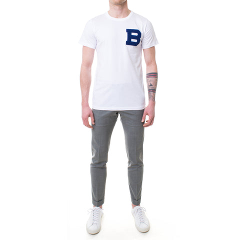 Brosbi The B T-Shirt weiss