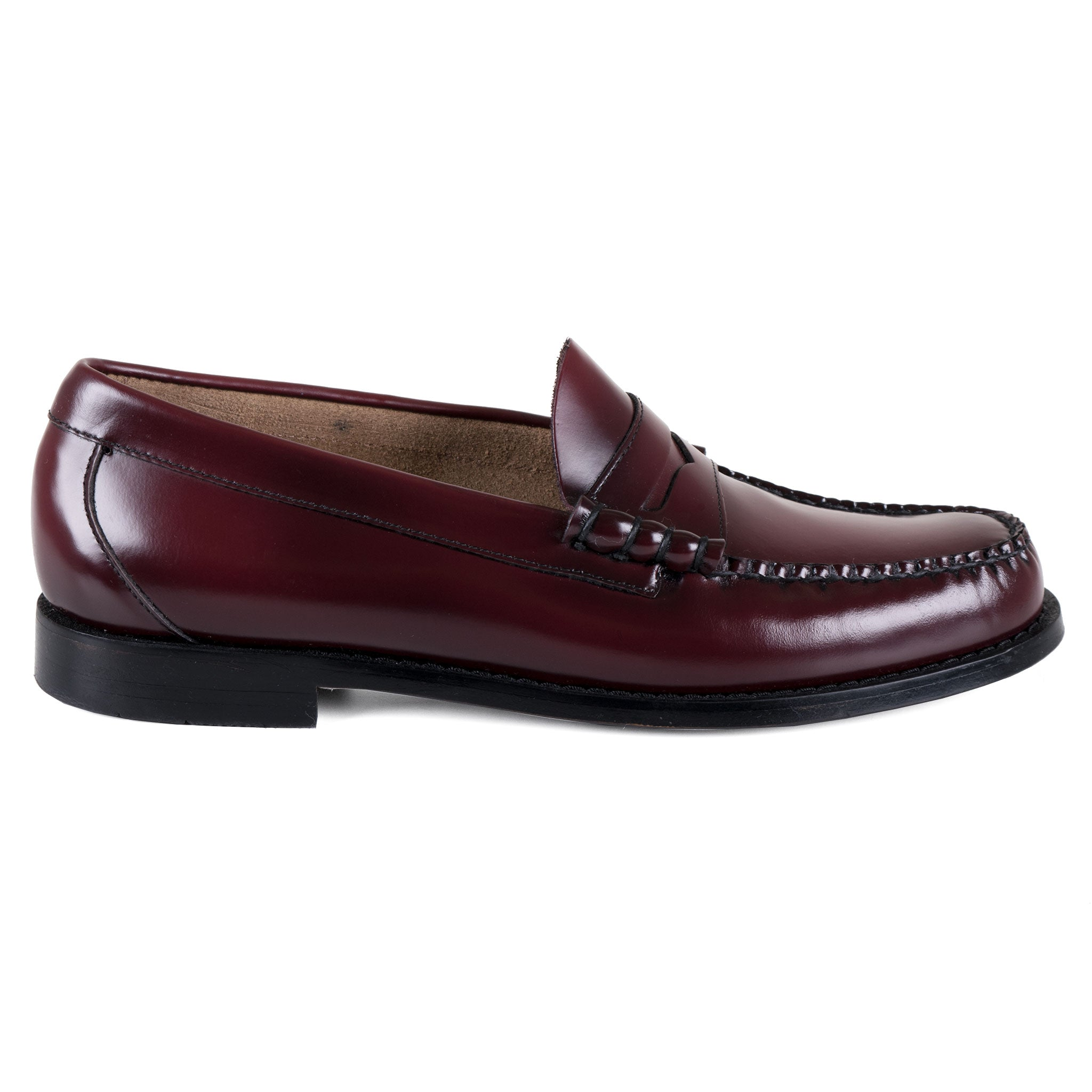 GH Bass Penny Loafer in Weinrot