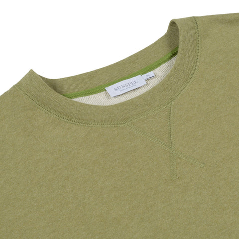 Sunspel Sweatshirt khaki