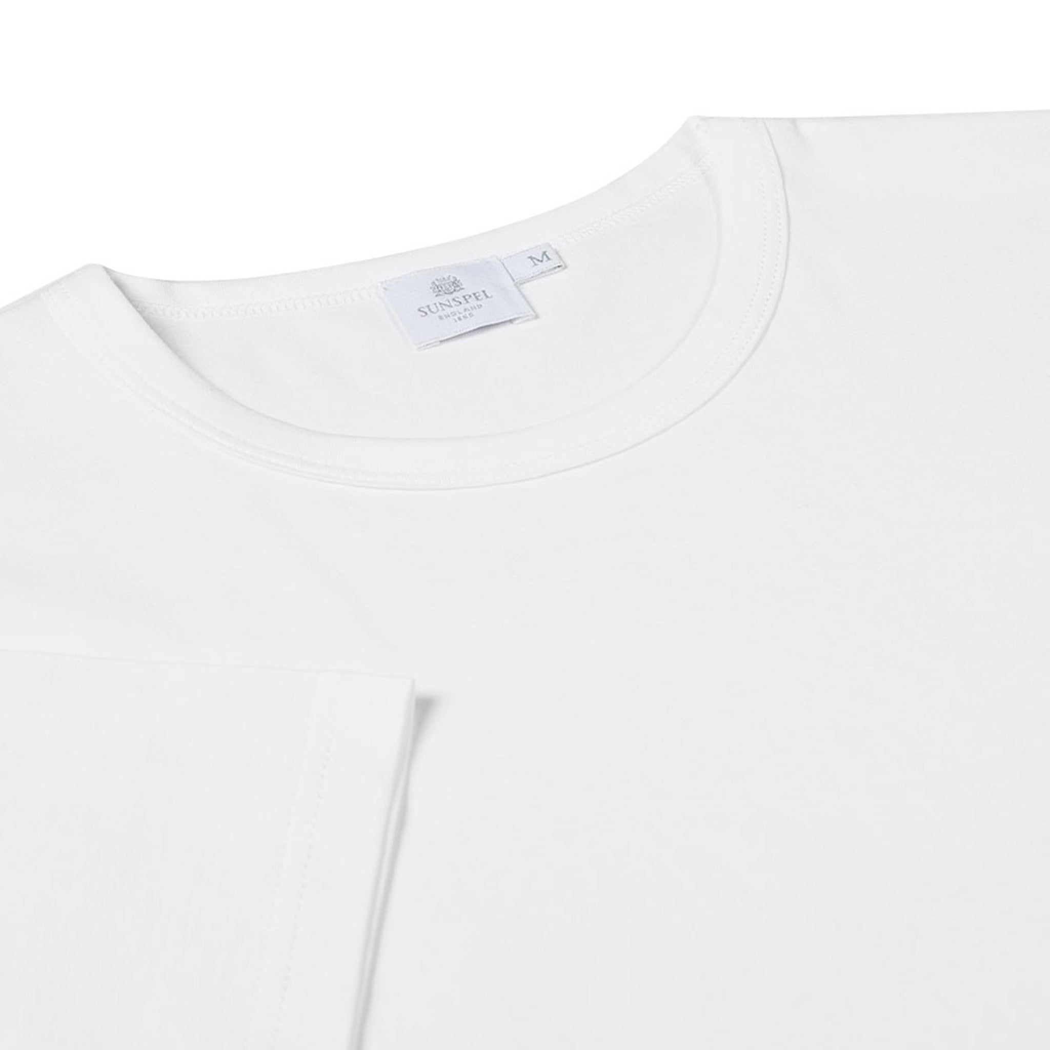 Sunspel T-Shirt weiss