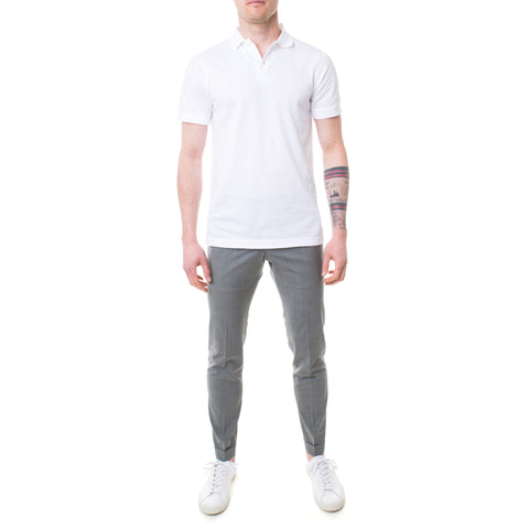 Sunspel Polo-Shirt weiss