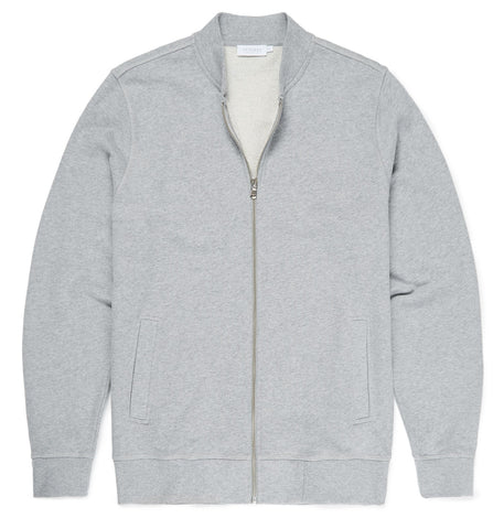 Sunspel Sweat Zip-Jacke grau