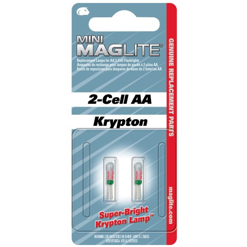 Mini MAG AA Bulbs 2 Each