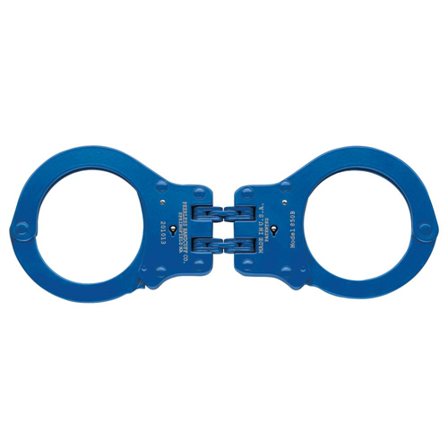 850CN Colored Hinged Handcuff, Navy