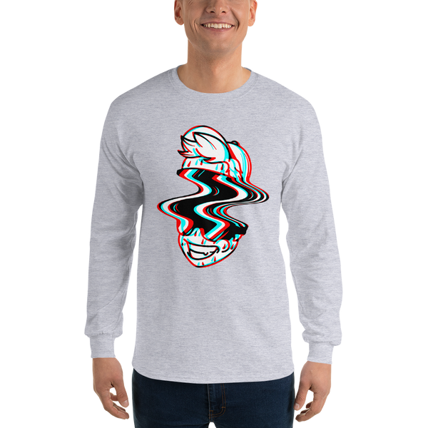 Yumi Glitch Long Sleeve T-Shirt