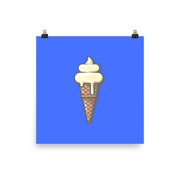 Ice Cream Cone Poster By Jack Royle