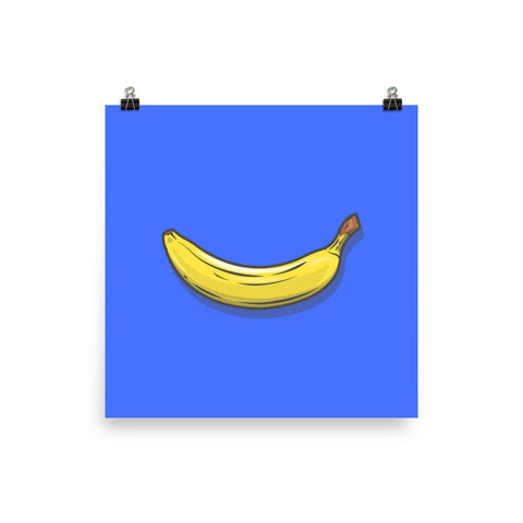 Banana Poster By Jack Royle