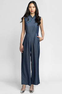 Hedy Jumpsuit - Midnight (Last Piece XL)