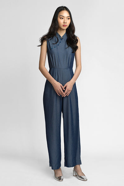 Hedy Jumpsuit - Midnight (LAST PIECE)