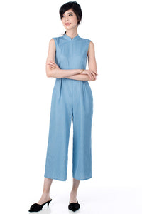 Peggy Jumpsuit - Blue