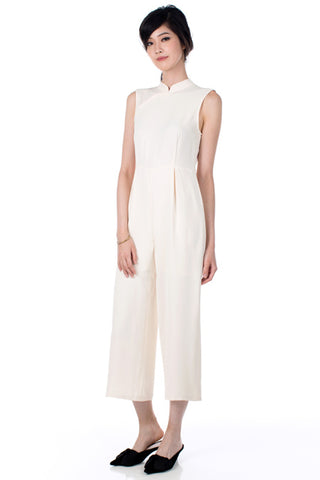 Peggy Jumpsuit - Cream