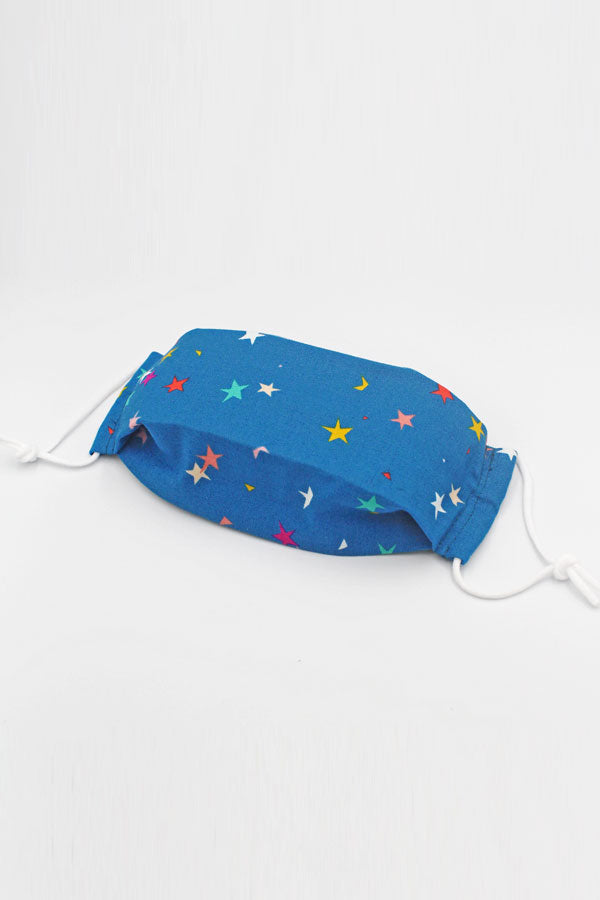 Fabric Mask (Kid) - Rainbow Stars