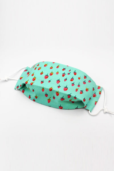 Fabric Mask (Kid) - Strawberries