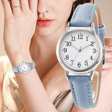 TPW Women's Fashion Elegant Style Genuine Leather Watch Solid Color Easy Reading Watch - Divine Inspiration Styles