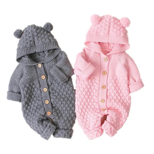 DOVICAISY Children's Fashion Trendy Knitted Romper Jumpsuit for Boys & Girls - Divine Inspiration Styles