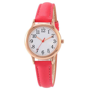 TPW Women's Fashion Elegant Style Genuine Leather Watch - Divine Inspiration Styles