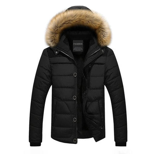 ARMANI Design Men's Sports Fashion Premium Quality Thick Parka Hooded Winter Jacket - Divine Inspiration Styles