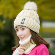 SPK Brand Women's Winter Fashion Knitted Beanie Cap & Infinity Scarf - Divine Inspiration Styles